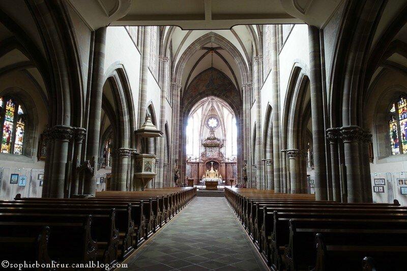 Marmoutier église fond