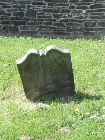 Cimetière à côté de l'église