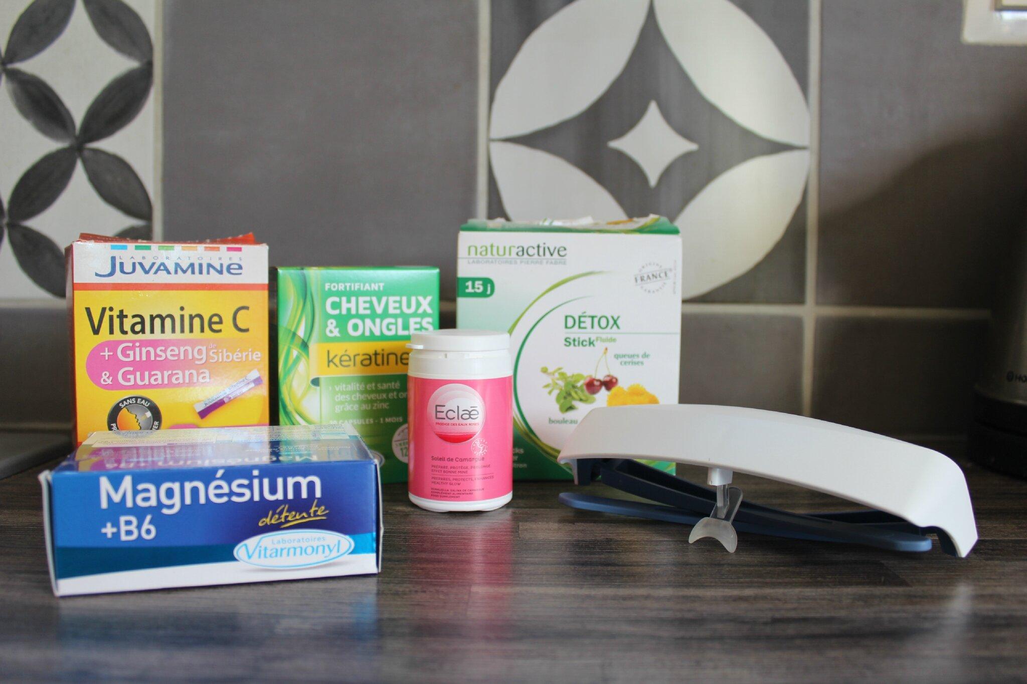 Mon plan vitaminé avant l'hiver (Vitarmonyl, Juvamine, Naturactive, Luminette, Eclae)