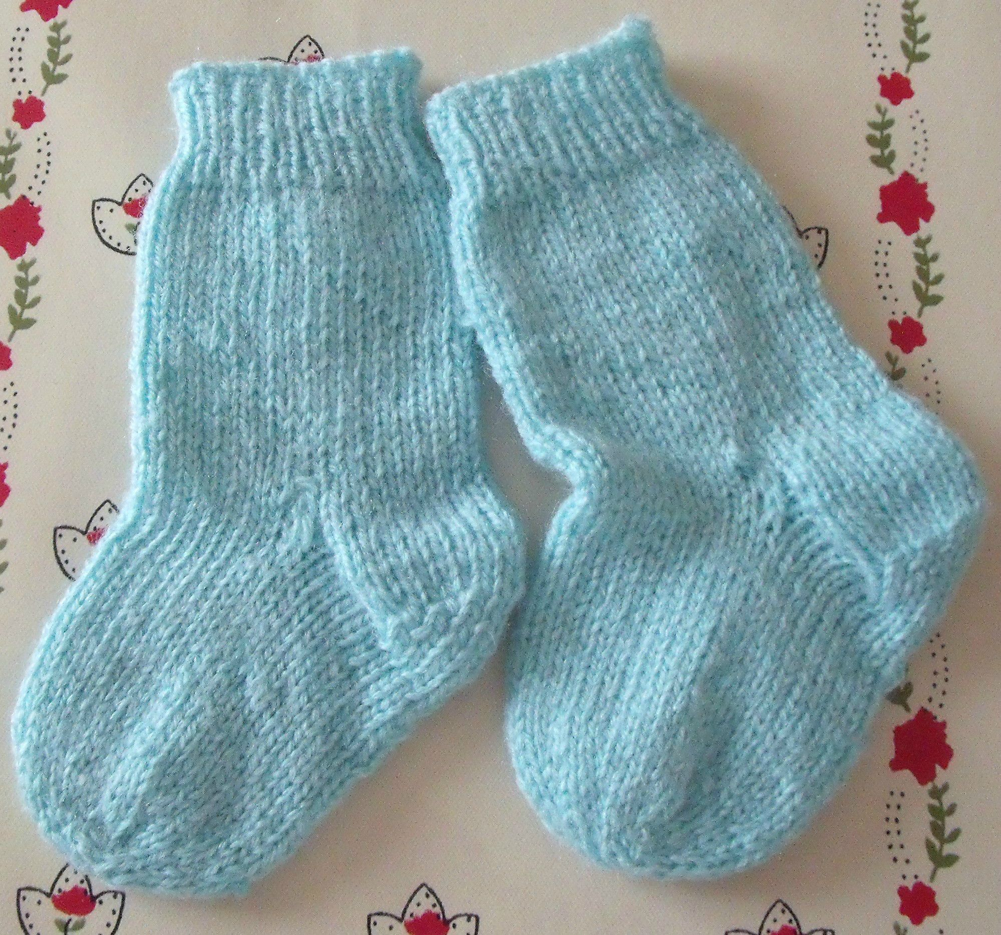 modele tricot pull chaussette