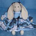 lapine bleue