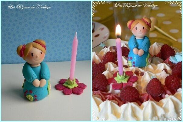 personnage gâteau anniversaire 8