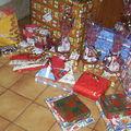 Voila les cadeaux