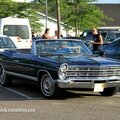 Ford galaxie 500 convertible de 1967 (rencard burger king juin 2014)