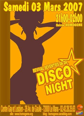 70's Revival Da Da Disco Night