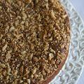 Gâteau au chocolat et croquant aux cacahuètes
