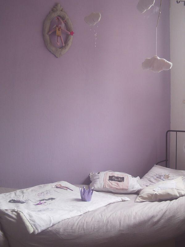 couleur lavande paisible maison. Black Bedroom Furniture Sets. Home Design Ideas