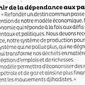 Dominique reynié : environnement et lutte contre djihadisme même combat