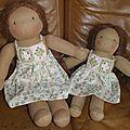 Robes granny poupées