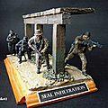 Moderne : Les unités d'Elite (3 dioramas)