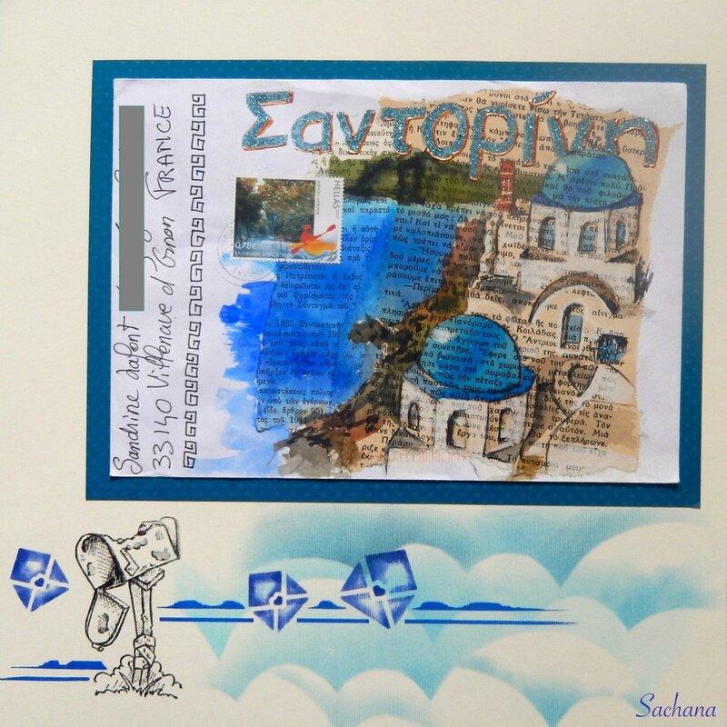 art postal sachana