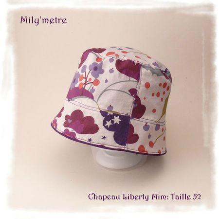 Chapeau liberty mim 52