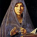 1475 (ca) ANTONELLO DE MESSINE : Annonciation