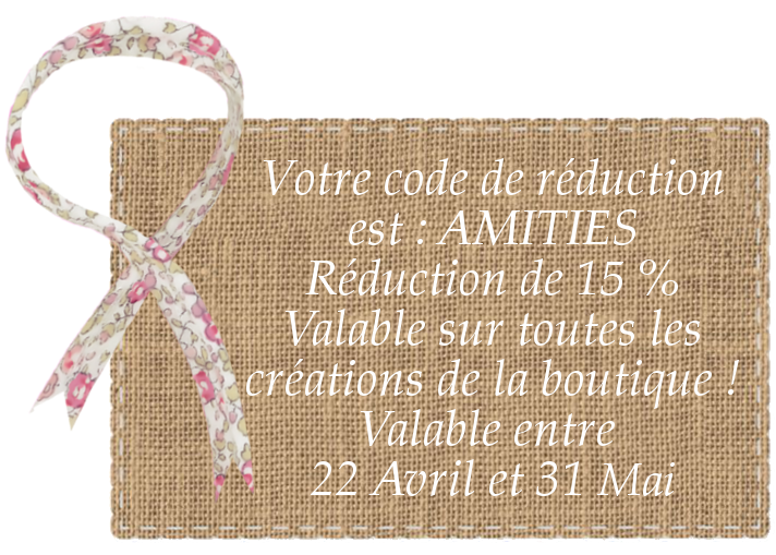 bon de réduction boutique