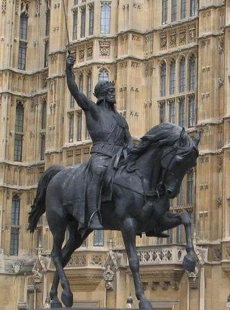 RICHARD_THE_LIONHEART___London