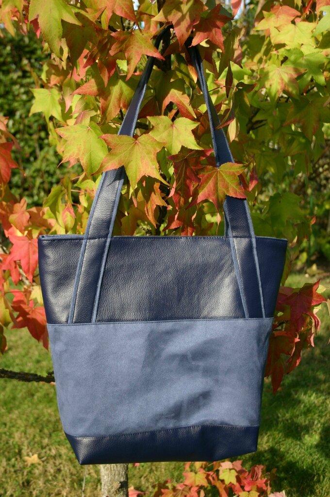 sac bimatière bleu 001
