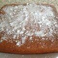 Gâteau moëlleux au citron