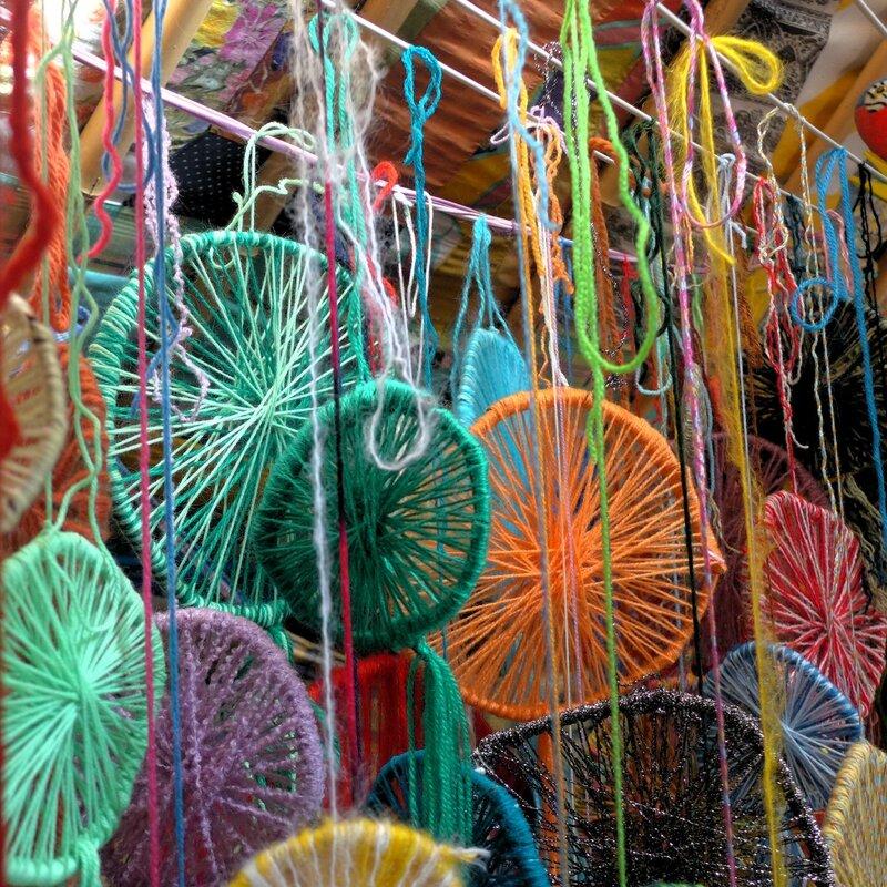 jolies soleilades dans yourte yurtao