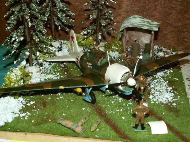 AVION SOVIET BOMBER SU 2 finie le 210317 (10)