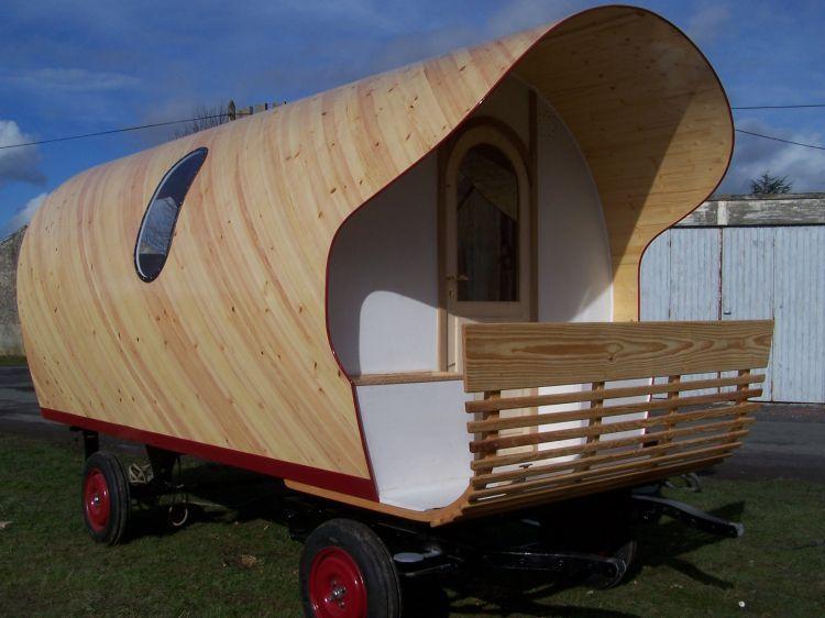 une nouvelle roulotte l 39 atelier d 39 archim de. Black Bedroom Furniture Sets. Home Design Ideas