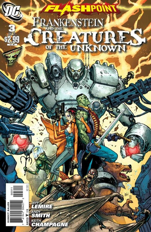 flashpoint frankenstein and the creatures of the unknown 3