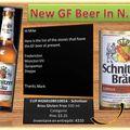 Nouvelle bière sans gluten au nouveau-brunswick