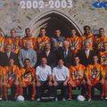 Saison 2002-2003 ligue 2. 2ème, le mans est promu