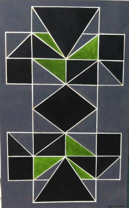 Art conceptuel miserere huile sur toile 116x73 pure et for Art minimal et conceptuel