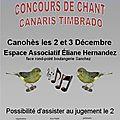 Concours timbrado perpignan canohès 2017