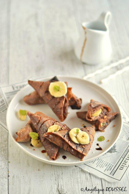 samossa crêpe chocolat biosoy banane