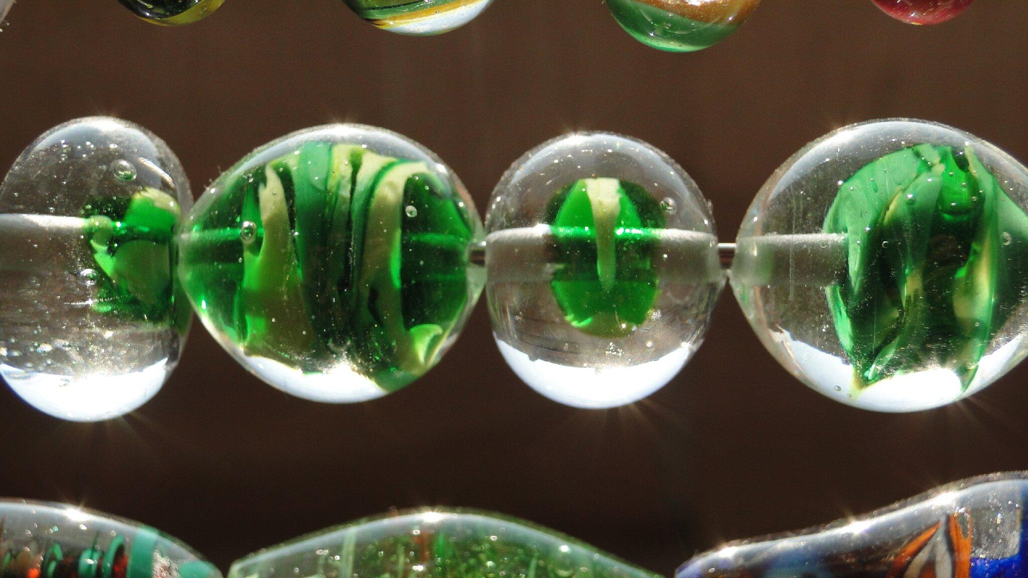 Réalisation d'une perle au chalumeau par Boris Lesoir