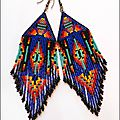 Boucles d'Oreilles Native vu sur Wild Mint Jewelry