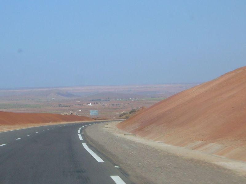 Route Marrakech Casa