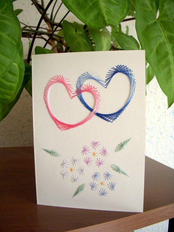 carte mariage Amandine & Sébastien