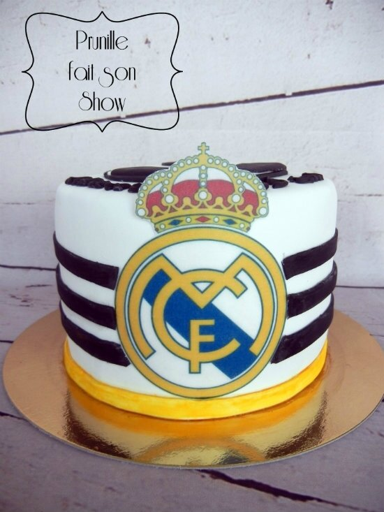 Decoration gateau real madrid for Decoration chambre real madrid