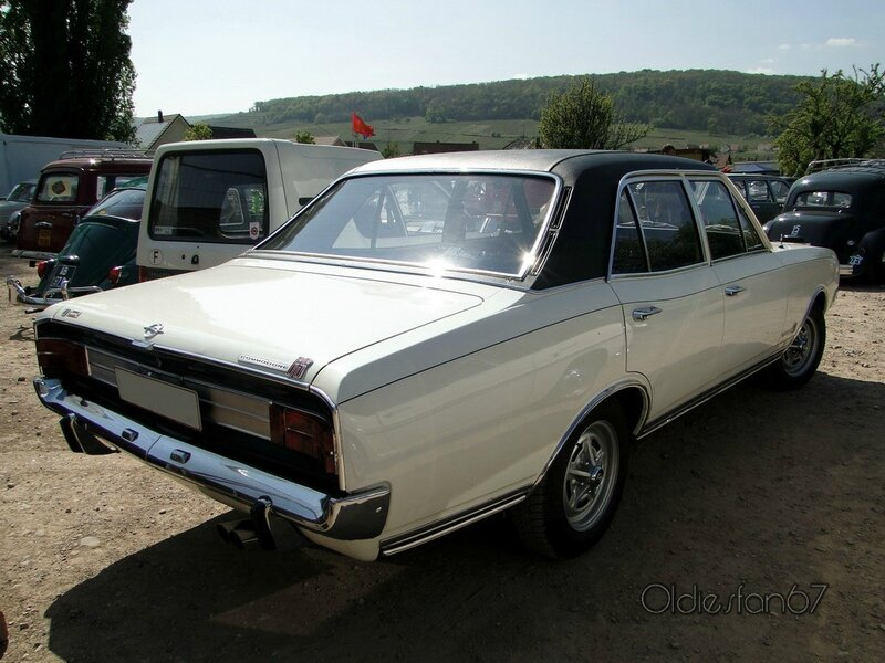 opel commodore gs serie a berline 1967 1971 b