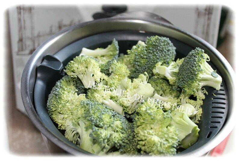 Flan brocoli 1