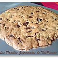 Cookies géants [ou comment accompagner un bon moment entre copines !]