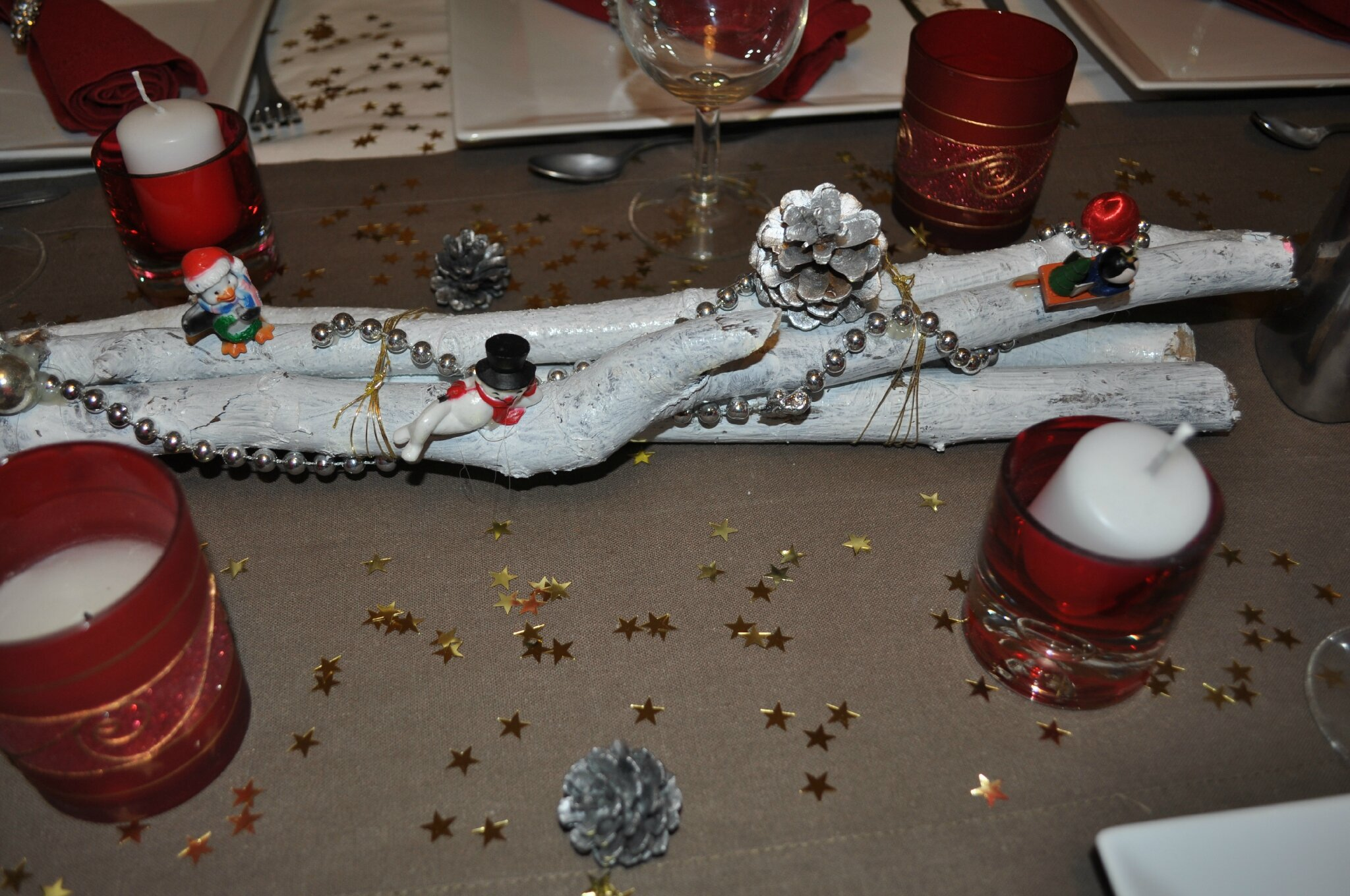 Deco table nouvel an for Decoration reveillon nouvel an