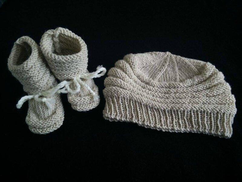 bébé bonnet chaussons