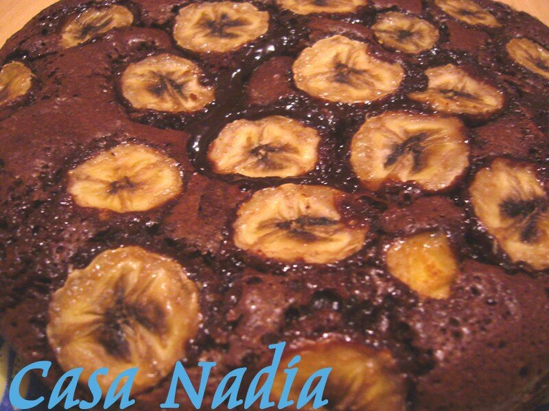 Moelleux au Chocolat et à la Banane