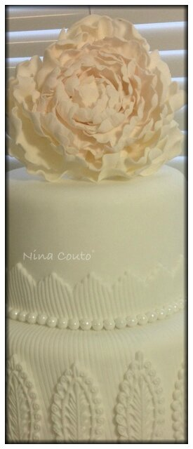 nina couto wedding cake