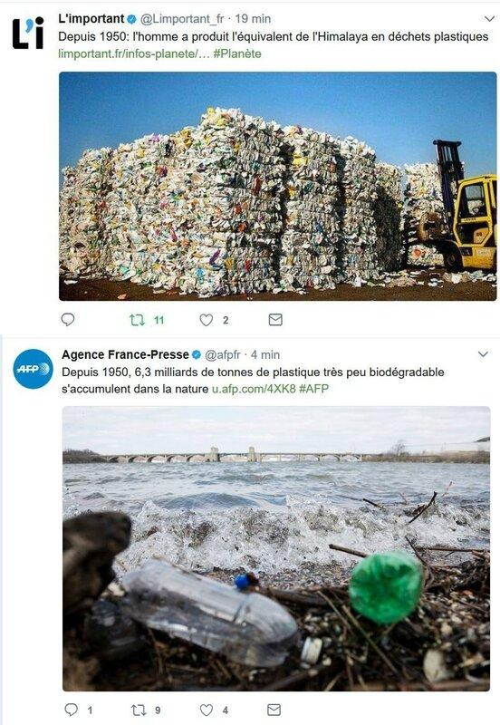 plastique dechets