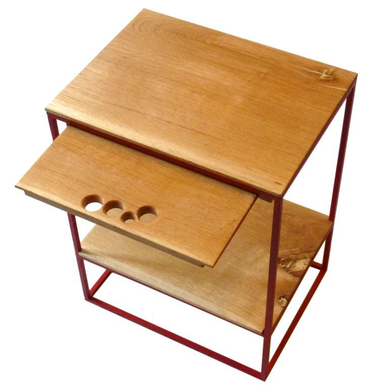 Petit chev t rouge rubis un week end la maison for Table basse rubis