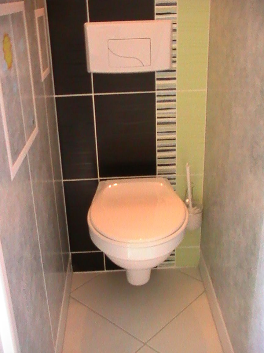 Deco wc suspendu faience - Wc suspendu carrelage ...