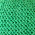 En octobre, on tricote point mousse !