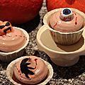 Les cupcakes au sang de monstre **cupcakes d'halloween**