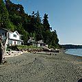 Les petites plages de la côte Ouest Colvos Passage