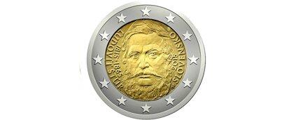 Slovaquie 2 Euro Commémorative Nationale 2015 « 200ème Anniversaire de la Naissance de « Ľudovít Štúr »