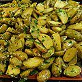 Pommes de terre ratte rôties au four